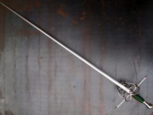 Thibault decorated rapier sword 'viper'