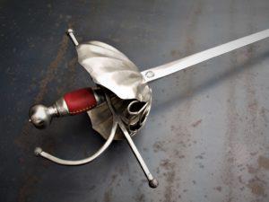 Shell sword rapier 'Pilgrim'