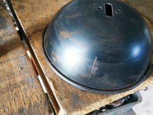 Steel cup for rapier sword
